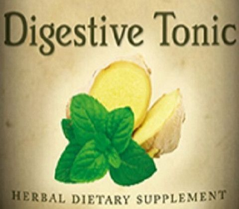DIGESTIVE TONIC Herbal Extract Tincture Natural & Organic Travel Pregnant USA