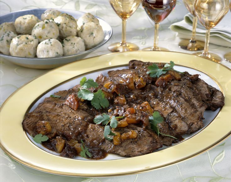 Delicious Kosher Sweet and Sour Brisket