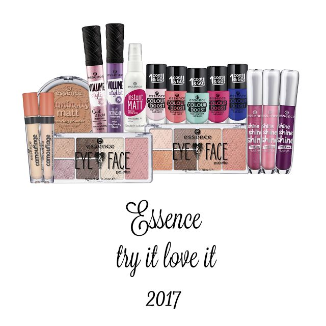 ESSENCE TRY IT LOVE IT TREND EDITION 2017  beauty essence limitededitions
