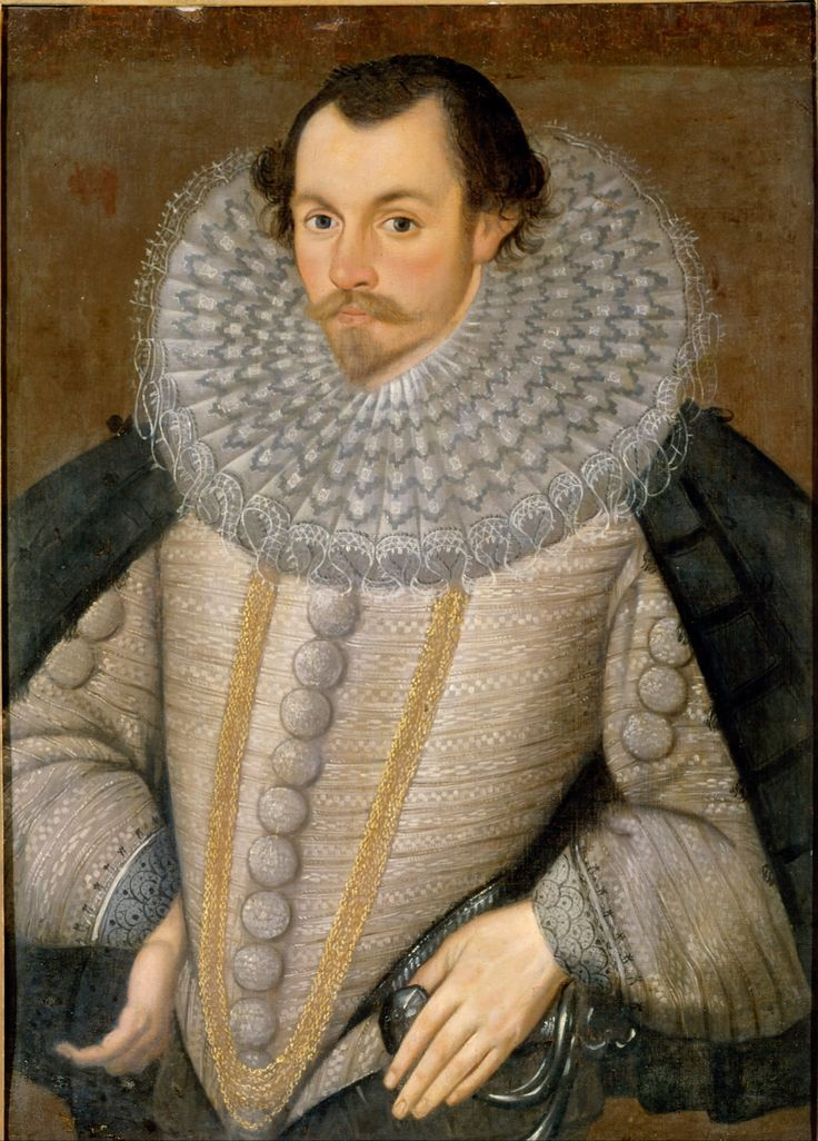 A Man, Called Sir Martin Frobisher – Artist Unknown (c. 17th century) #cdnhistory