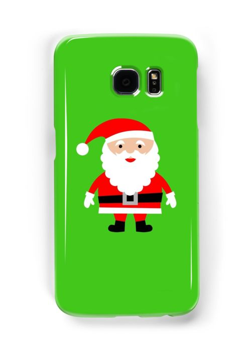 Cute Santa Samsung Galaxy case/skin. Do you love Christmas like i do? If so you will love this cute Santa Samsung Galaxy case . This Cute Santa Samsung galaxy case is sure to get you in the Christmas spirit. Or why not give this Cute Santa Samsung galaxy case to somebody as a different gift?
