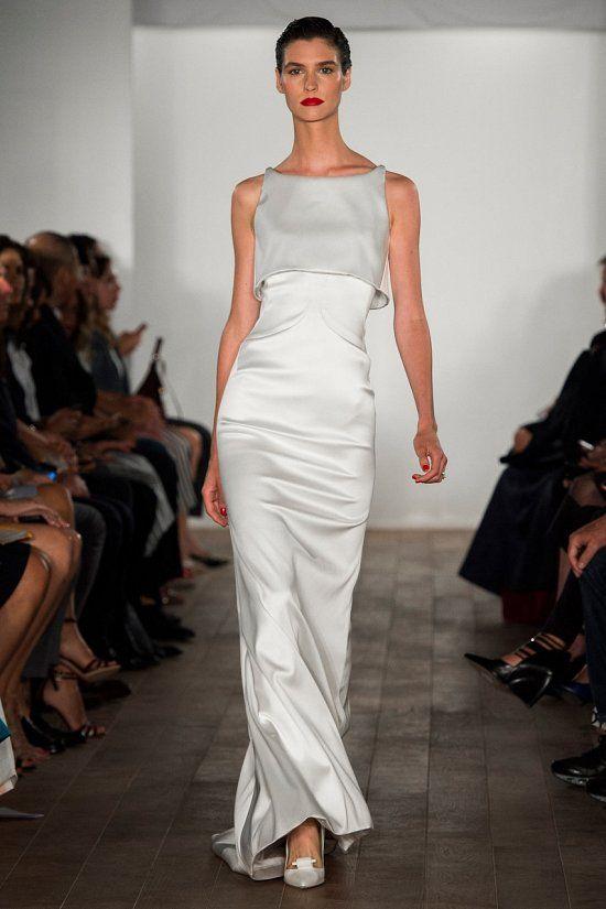 В рамках Недели моды в Нью-Йорке свою коллекцию представил признанный мастер вечерних нарядов дизайнер Зак Позен (Zac Posen).