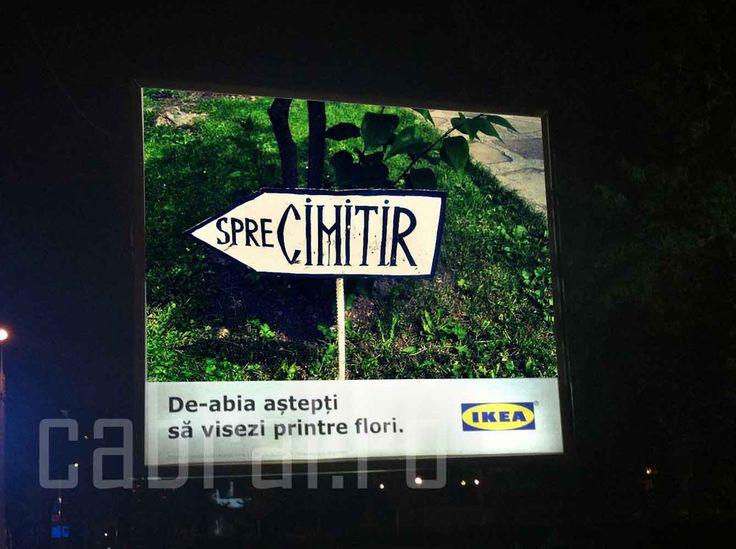 Ikea Romania fail
