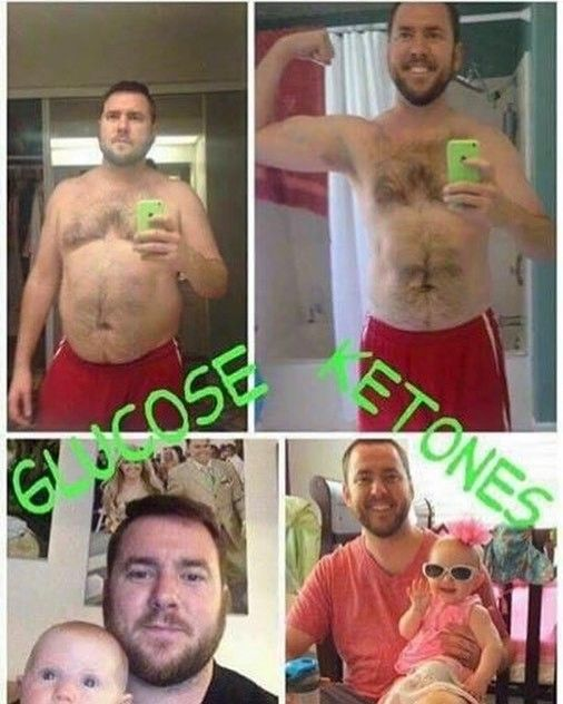 Keto//os is not just for women! The first two pictures are Michael Rutherford the top income earner in the company.  Still skeptical? Let's connect you with Michael and you can hear about his experience thru FaceTime.  He has had success with the company