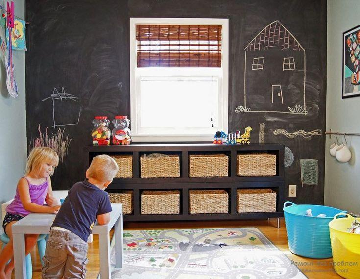 Место для рисования в детской