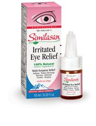 Homeopathic Eye Relief for kids and adults.