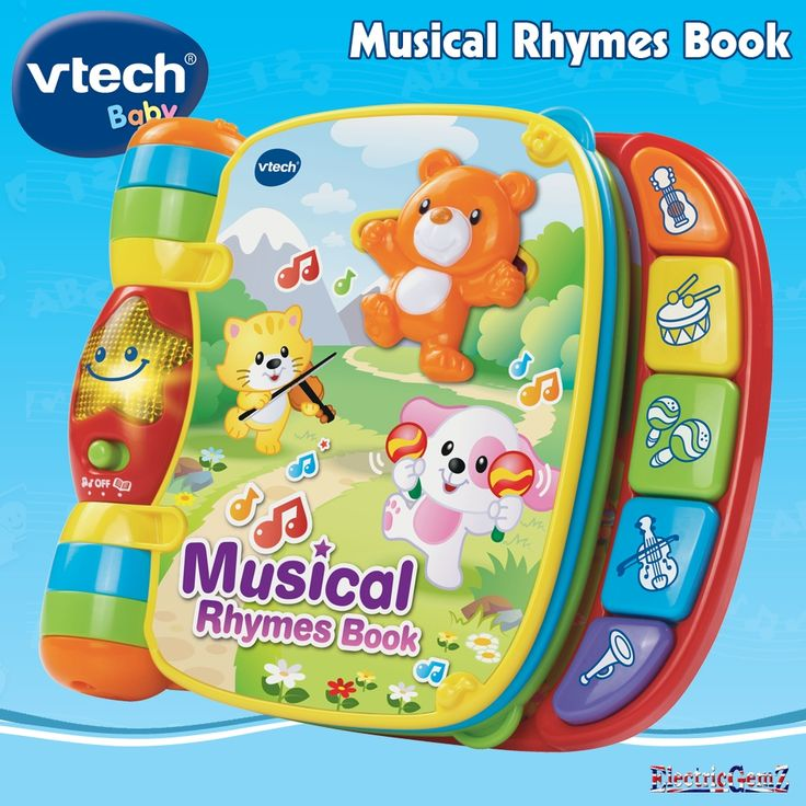 Shop Vtech baby musical rhyme book & discover your baby world of sing along with fun.