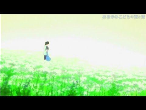 Animation「おおかみこどもの雨と雪」Directed by Mamoru Hosoda