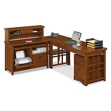 corner desk modern home office mission pasadena l desk set set