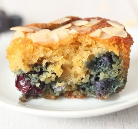 """Grain-free Almond Lemon Blueberry Muffins ... having a bit of a """"need for sweet"""" attack today. Blueberries are a great brain food ... and I love the combination of lemon & blueberries in any recipe."""