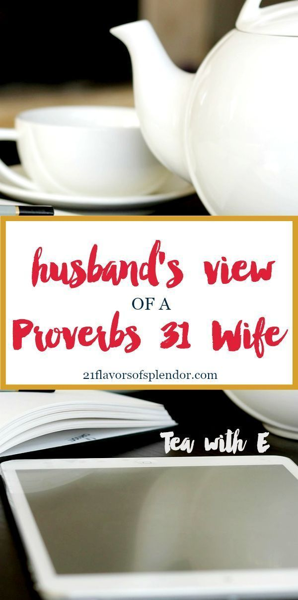 The characteristics of a Proverbs 31 wife are the standard many husbands expect for our wives because the Word says it and that settles it. Click...