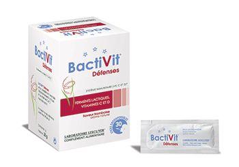#Bactivit Défenses, Contribue au fonctionnement normal du système immunitaire (vitamines C et D). #ferments lactiques