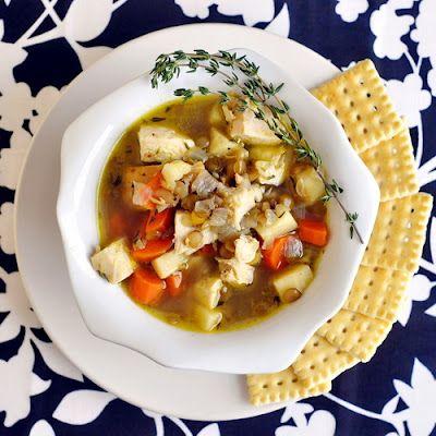 Chicken Thyme and Lentil Soup: Brown Rice, Rice Soup, Lentil Soup, Newfoundland Kitchens, Rocks Recipe, Lentils Soup, Chicken Thyme, Food Photo, Chicken Lentils