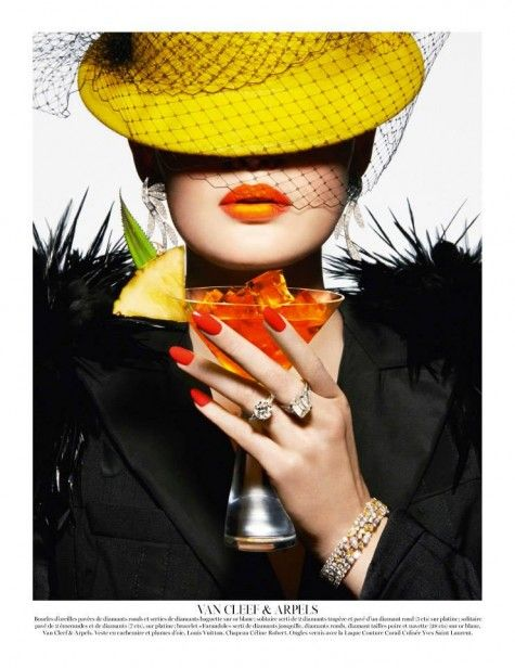 VOGUE PARIS | COCKTAIL D'ETE | LE BOOK