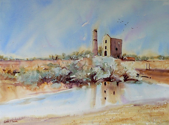 The Engine House, Moonta by Lara  Cooper