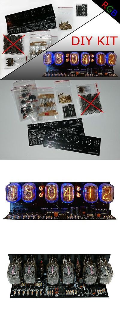 Digital Clocks and Clock Radios: Nixie Clock Diy Kit In-12 Alarm Rgb Backlight (No Tubes) -> BUY IT NOW ONLY: $62.95 on eBay!