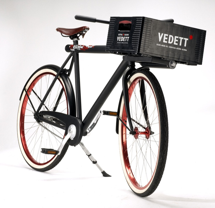 Vélo Vedett , a one of kind Vanmoof ( 1 of 1 )