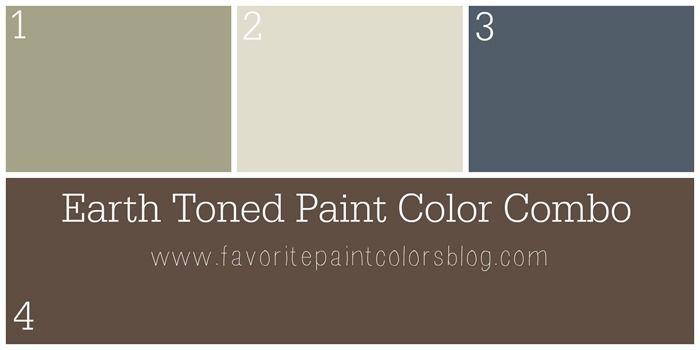 Earth Toned Paint Color Combination (Favorite Paint Colors)
