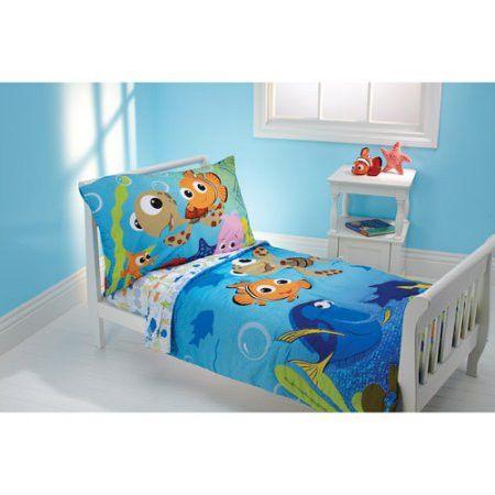 Kids, Toddlers, 4 Piece Toddler Bedding Comforter Set