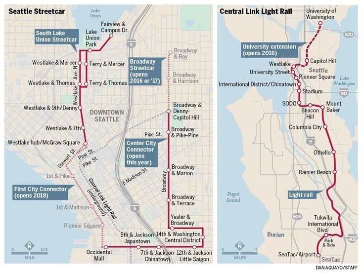 Image Result For Light Rail To Seatac Airport Map