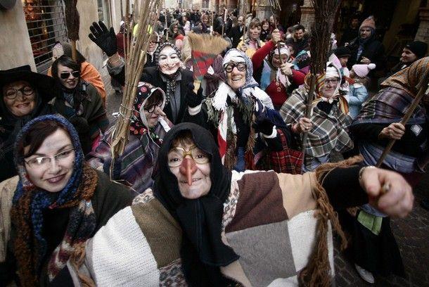 January -The Season Of The Witch - Buongiorno La Befana!