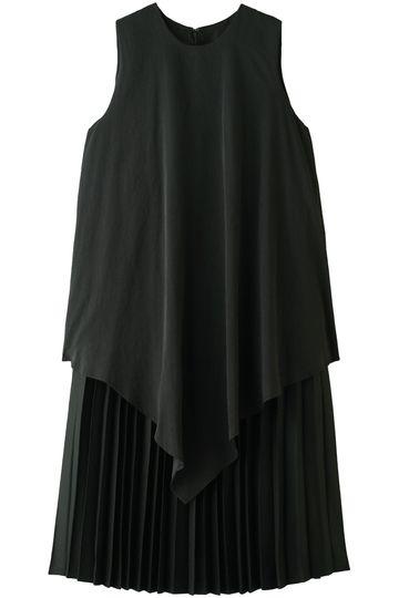 2レイヤープリーツドレス ミュラー オブ ヨシオクボ/muller of yoshiokubo