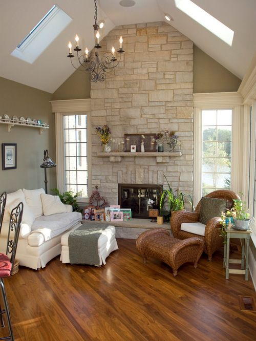 Simply grove sure, minimalism is having its moment, but a large empty wall in your living room can make t. Best Limestone Fireplace Design Ideas & Remodel Pictures