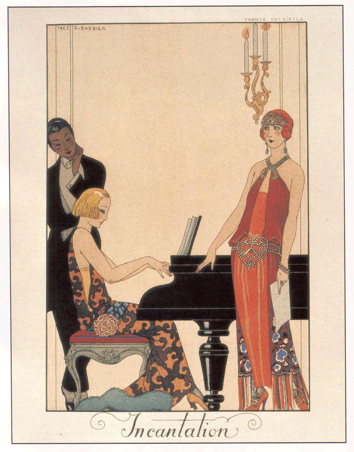 Illustration from Falbalas et Fanfreluches - 1923