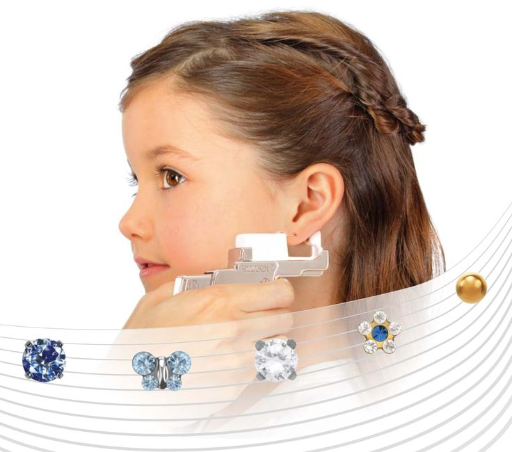Studex System 75 is a safe and gentle ear piercing system with gorgeous piercing studs – perfect for children.  Send us your country and ZIP code for addresses of Studex partners near you.