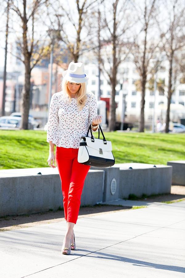 Savvy Spice   Fashion Tips for Men & Women   Celebrity Looks For Less: Spring Trending~Peplum, Polka Dots & America's Pastime