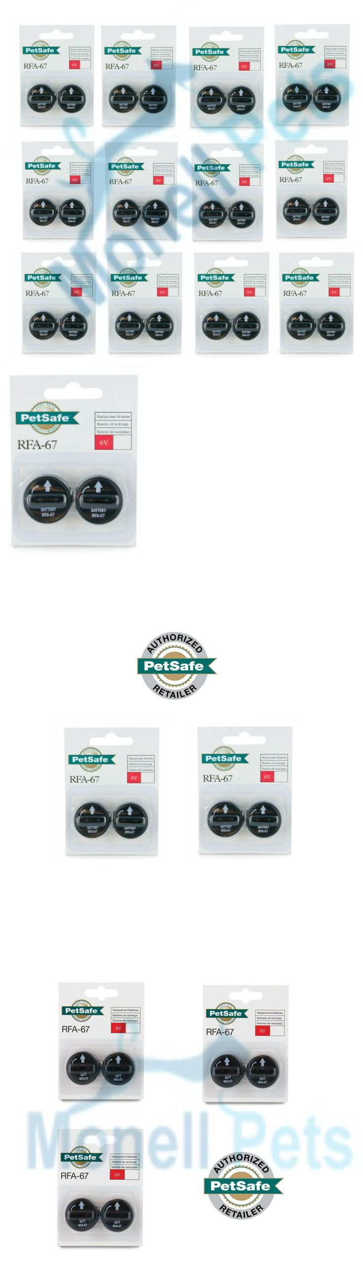 Other Dog Training and Obedience 146245: Petsafe Rfa-67D-11 Batteries For Wireless And In-Ground Dog Fence Collars Rfa-67 -> BUY IT NOW ONLY: $33.75 on eBay!
