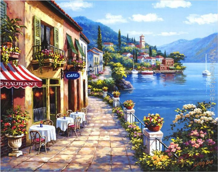 Sung Kim: Overlook Cafe I