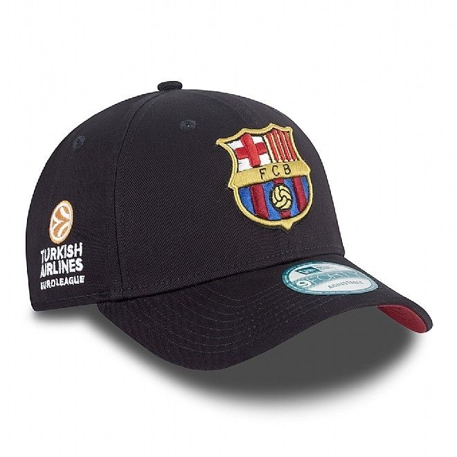 "Gorra Euroliga New Era ""FC Barcelona"" 9FORTY http://www.basketspirit.com/epages/268403.sf/es_ES/?ObjectID=4853198&ViewAction=FacetedSearchProducts&SearchString=new+era"