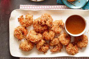 Camarones con coco y salsa dulce picante Receta - Comida Kraft