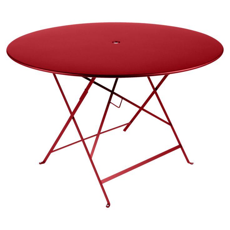 Delightful Table De Jardin Bistrot #8: Table Bistro Ronde 117 Cm, Table De Jardin, Table Ronde Jardin