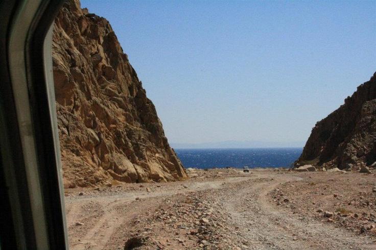 The road to the Laguna, amazing!