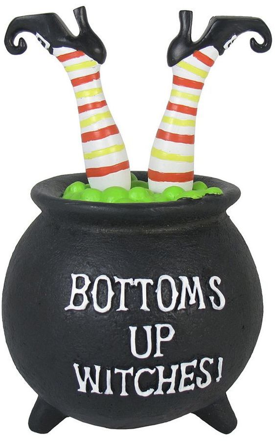"Celebrate Halloween Together ""Bottoms Up Witches"" Photo Clip"