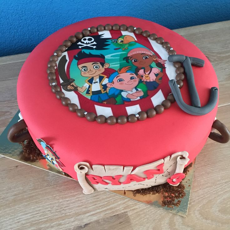 Nooitgedacht piraten taart