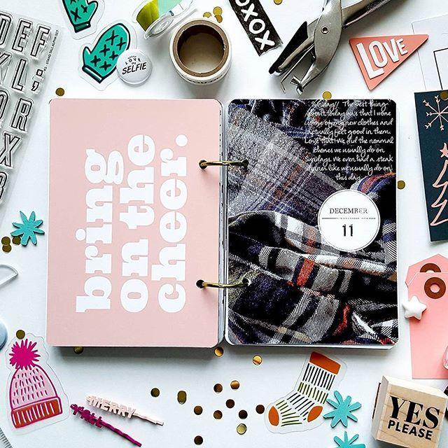 Day 11, flannel shirts= . . #decemberdaily #minialbum #memorykeeping #pushprintstudio #kelliestampsct #kelliestamps #flatlay #flatlayforever #onmyblog #onmydesk #craftersgonnacraft