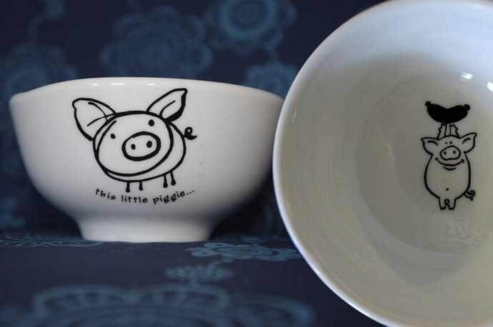 How sweet are these Happily Ever After Ceramics by Tori Stowe? stoweandso.co.za.