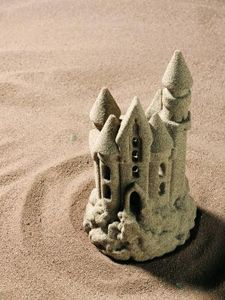 How to Make a Hardened Sand Castle Out of Baking Soda thumbnail