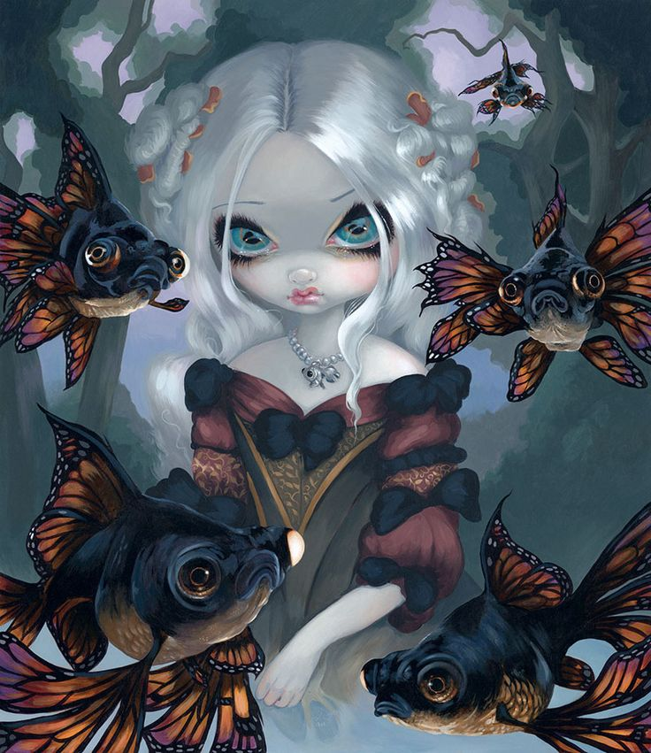 Jasmine Becket Griffith surrealismo pop gotico