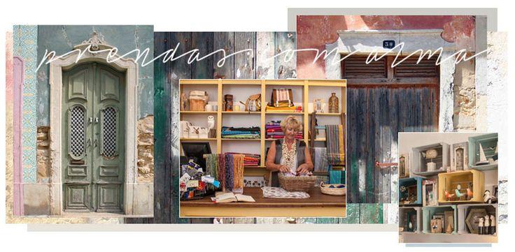 Casas das Portas heeft 2 winkels in Tavira waar je heel veel leuke souvenirs kunt kopen, een aanrader