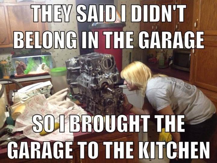 Love this!! #cargirlforlife