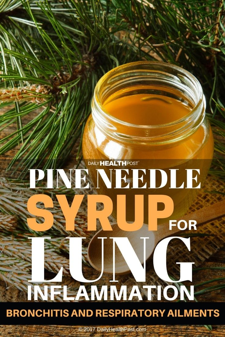 Here�s a simple recipe for a syrup that can be added to tea and other hot beverages or drunk on it�s own, to help ease lung inflammation and sooth symptoms associated with bronchitis,�pneumonia, and other respiratory ailments.