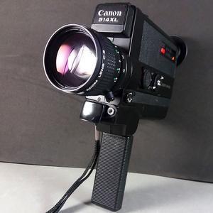 Canon 514 XL Super 8 Film Camera w/C8 9-45mm f/1,4  FAST Zoom Lens