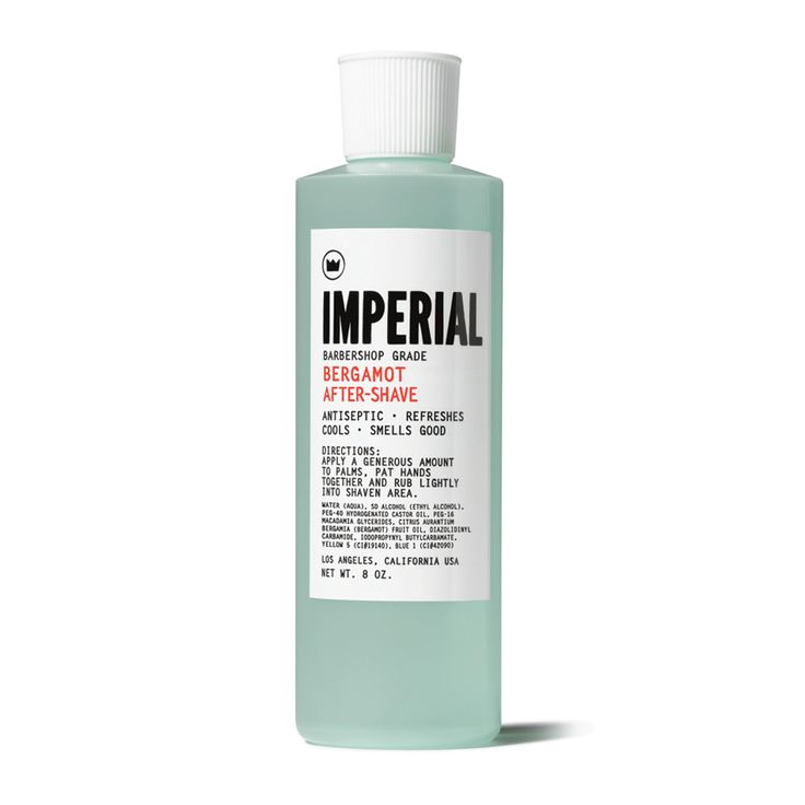 Imperial Bergamot after shave …….oh yeah says the face
