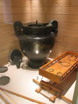 Musée du Pays Châtillonnais - Trésor de Vix à Châtillon-sur-Seine - Côte-d'Or en Bourgogne | Côte-d'Or Tourisme