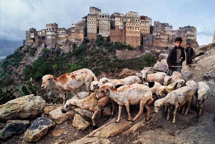 Trabalho infantil no Iêmen.  Fotografia: Steve McCurry.