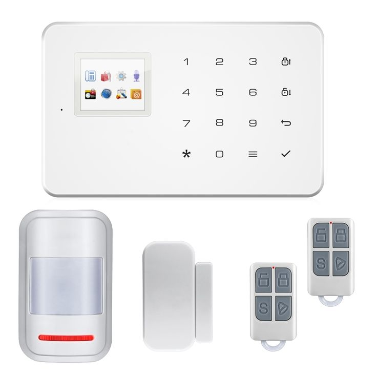 65.00$  Buy now - http://aliyi7.shopchina.info/go.php?t=32722158582 - Home Office Wireless GSM Alarm System SIM Smart Home Burglar Security Alarm System Android ISO APP Control PIR infrared Detector  #magazineonlinebeautiful